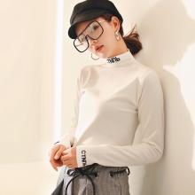 2015夏季新款雪纺衬衫女韩版中长款修身显瘦休闲长袖白色衬衣夏潮